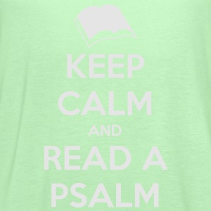 Keep Calm and Read a Psalm - Women's Flowy Tank Top by Bella