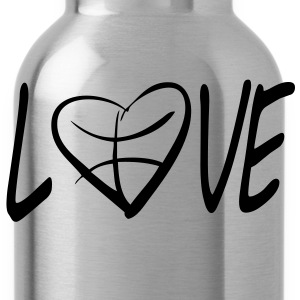 love basketball  T-Shirts - Water Bottle