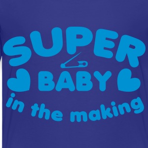 SUPER baby in the making!  Kids' Shirts - Toddler Premium T-Shirt