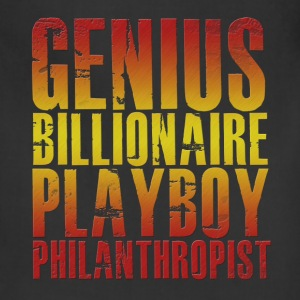 Genius Billionaire Playboy Philanthropist T-Shirts - Adjustable Apron