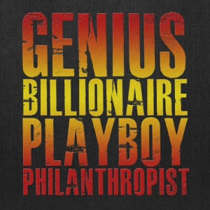 Genius Billionaire Playboy Philanthropist T-Shirts - Tote Bag