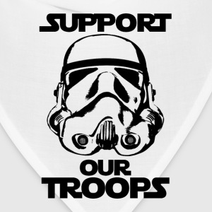 stormtrooper support our troops tshirt - Bandana