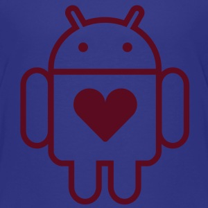 Droid's Heart Kids' Shirts - Toddler Premium T-Shirt