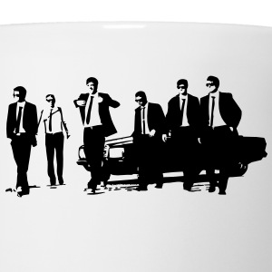 Manager Bachelor Party in Suits - Coffee/Tea Mug