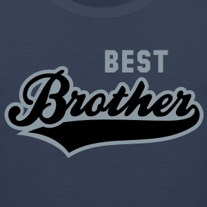 BEST Brother 2 Colors Shirt RN - Men's Premium Tank