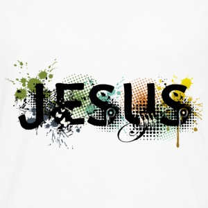 Jesus name - Men's Premium Long Sleeve T-Shirt