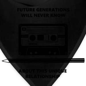 Relationship Audio Tape Pencil T-Shirts - Bandana