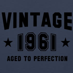 VINTAGE 1961 - Birthday T-Shirt WN - Men's Premium Tank