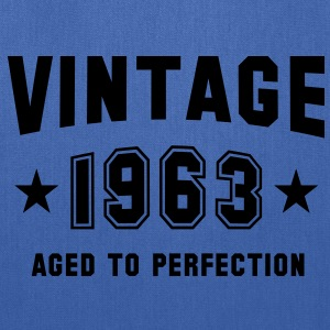 VINTAGE 1963 - Birthday T-Shirt WN - Tote Bag
