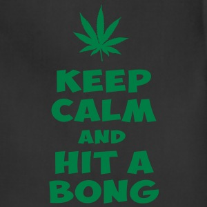keep calm and hit a bong T-Shirts - Adjustable Apron