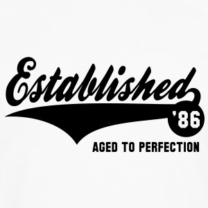 Established 1986 Birthday Anniversaire T-Shirt NW - Men's Premium Long Sleeve T-Shirt