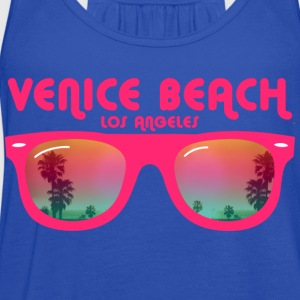 Venice beach los angeles Kids' Shirts - Women's Flowy Tank Top by Bella