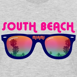 South Beach Miami sunglasses T-Shirts - Men's Premium Long Sleeve T-Shirt