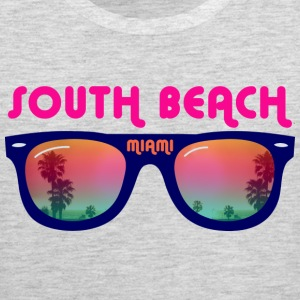 South Beach Miami sunglasses T-Shirts - Men's Premium Tank