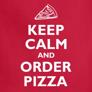 Keep Calm and Order Pizza T-Shirts - Adjustable Apron