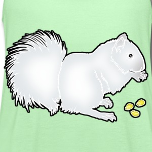 whitesquirrel_copy T-Shirts - Women's Flowy Tank Top by Bella