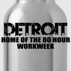 80 Hour Workweek T-Shirts - Water Bottle