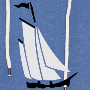 sailboat (2c) T-Shirts - Unisex Lightweight Terry Hoodie