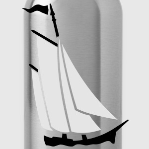 sailboat (2c) T-Shirts - Water Bottle