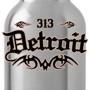 Detroit 313 Heavyweight T-Shirt - Water Bottle