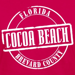 Cocoa Beach Title B Heavyweight T-Shirt - Women's Premium Long Sleeve T-Shirt