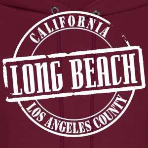 Long Beach Title B Heavyweight T-Shirt - Men's Hoodie