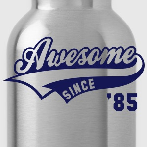 Awesome SINCE 85 Birthday Anniversary T-Shirt WN - Water Bottle