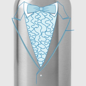 Fake Deluxe Tuxedo Blue Youth - Water Bottle