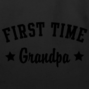 FIRST TIME Grandpa Shirt WG - Eco-Friendly Cotton Tote