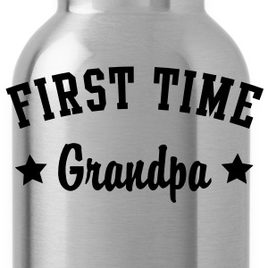 FIRST TIME Grandpa Shirt WG - Water Bottle