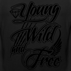 Young, Wild, and Free T-Shirts - stayflyclothing.com - Men's Premium Tank