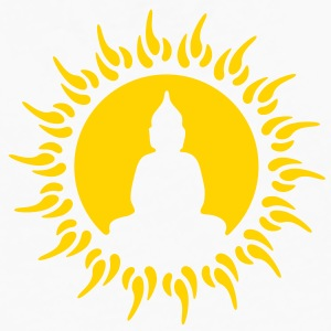 buddha sun T-Shirts - Men's Premium Long Sleeve T-Shirt
