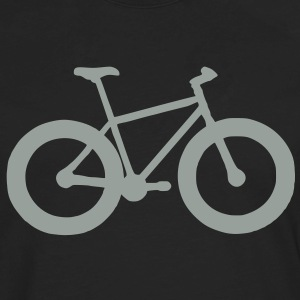 Fatbike Bicycle T-shirt - Men's Premium Long Sleeve T-Shirt
