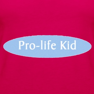 Pro-life Kid - Women's Premium Tank Top