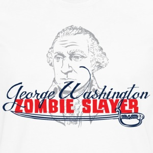 George Washington Zombie Slayers - Men's Premium Long Sleeve T-Shirt
