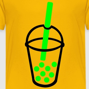 Bubble Tea Kids' Shirts - Toddler Premium T-Shirt