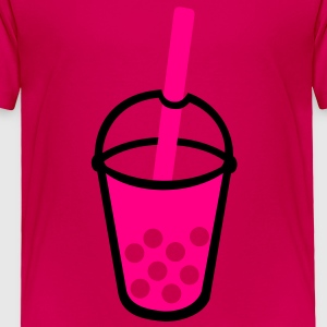 Bubble Tea Drink Kids' Shirts - Toddler Premium T-Shirt