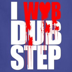 I WUB DUBSTEP I LOVE DUPSTEP T-Shirts - Adjustable Apron