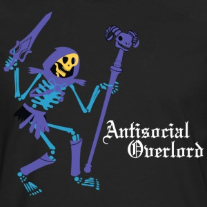 Antisocial Overlord T-Shirts - Men's Premium Long Sleeve T-Shirt