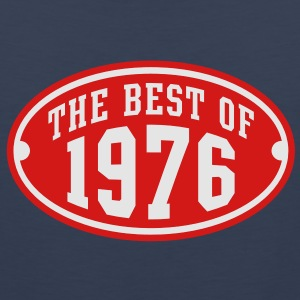 THE BEST OF 1976 2C Birthday Anniversary T-Shirt - Men's Premium Tank