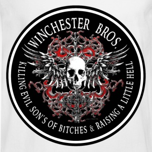 Winchester Bros Ring Patch 2 T-Shirts - Men's Long Sleeve T-Shirt