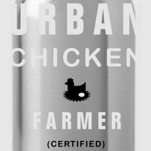 urban chicken farmer T-Shirts - Water Bottle