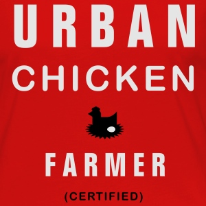 urban chicken farmer T-Shirts - Women's Premium Long Sleeve T-Shirt