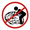 no brainfuck, don´t fuck my brain T-Shirts - Men's Premium T-Shirt