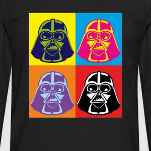 Darth Vader - Pop Art - Men's Premium Long Sleeve T-Shirt