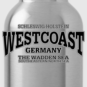 Germany Westcoast (black) - Water Bottle