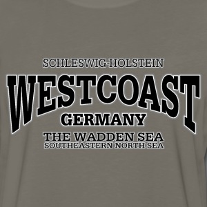 Germany Westcoast (black) - Men's Premium Long Sleeve T-Shirt