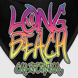 Long Beach Graffiti Heavyweight T-Shirt - Bandana