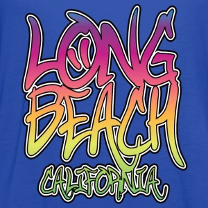 Long Beach Graffiti Heavyweight T-Shirt - Women's Flowy Tank Top by Bella