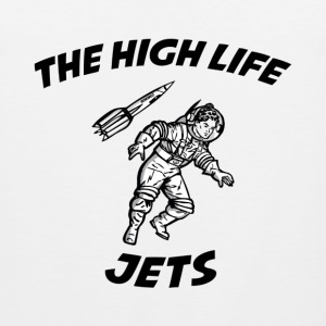 The High Life - Jets T-Shirts - Men's Premium Tank
